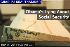 Obama's Lying About Social Security