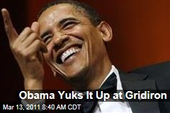Obama Gridiron Dinner: President Yuks It Up, Mitch Daniels Parries