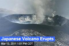 Japanese Volcano Shinmoedake Erupts