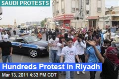 Saudi Arabia Protests: More than 200 Protest Outside Interior Ministry in Riyadh
