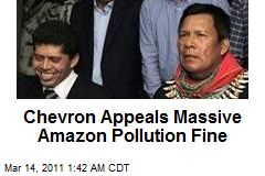 Chevron Appeals Massive Amazon Pollution Fine