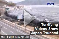 Japan Tsunami Videos Show Terrifying Impact of Post-Earthquake Disaster
