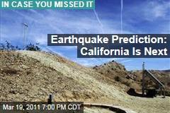 Japan Earthquake: California's the Next Big One