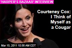 Courteney Cox Talks David Arquette, Split, Dating, and Co-Star Rumors With 'Harper's Bazaar'