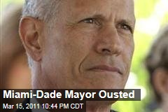 Miami-Dade Mayor Carlos Alvarez