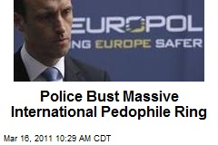 Police Bust Massive International Pedophile Ring