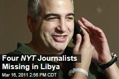 New York Times Journalists Go Missing in Libya, Including Anthony Shadid, Stephen Farrell