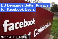 EU Plans New Privacy Crackdown on Facebook, Social Networks