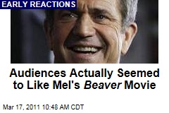 Mel Gibson's 'The Beaver': Critics Not Overwhelmed, but SXSW Audiences Seemed to Like