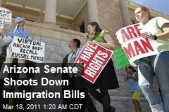 Arizona Senate Shoots Down Immigration Bills