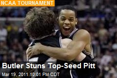 Butler Stuns Top-Seed Pitt