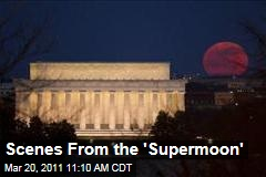 Images of the 'Supermoon'