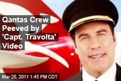 John Travolta Qantas Video: Crew Peeved by 'Capt. Travolta' Safety Video