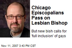 Chicago Episcopalians Pass on Lesbian Bishop