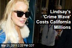 Lindsay Lohan's 'One Woman Crime Wave' Costs California Taxpayers Millions