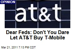 AT&T's Plan to Buy T-Mobile Means the End of Competitive Cell Phone Service: Brett Arends