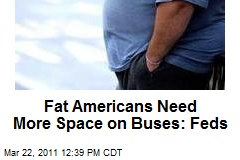 Fat Americans Need More Space on Buses: Feds