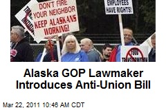 Alaska GOP Lawmaker Introduces Anti-Union Bill
