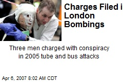 Charges Filed in London Bombings