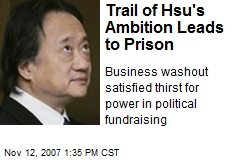 Trail of Hsu's Ambition Leads to Prison