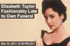 Elizabeth Taylor Funeral Held in LA