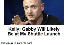 Mark Kelly: Gabrielle Giffords Likely to Make Shuttle Launch