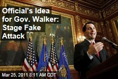 IN Prosecutor Told Gov. Walker to use False-Flag