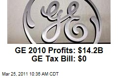 General Electric: America's Biggest Firm Pays No US Tax
