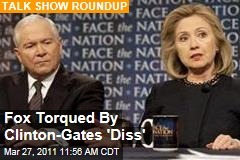 Fox's Chris Wallace Torqued By Hillary Clinton-Robert Gates Appearances on Other Sunday Shows