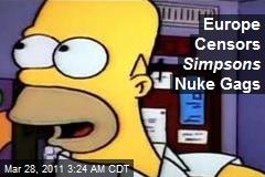 Europe Censors Simpson Nuke Gags