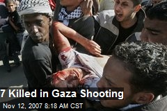 7 Killed in Gaza Shooting