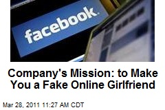 Company's Mission: to Make You a Fake Online Girlfriend