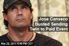 Jose Canseco Ditches Celebrity Boxing, Sends Twin Ozzie Canseco to Box Instead