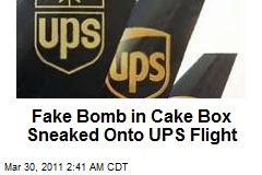 'Dummy Bomb' Probed on UPS Flight