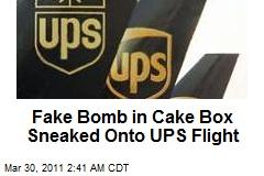 'Dummy Bomb' Probed on UPS Flight