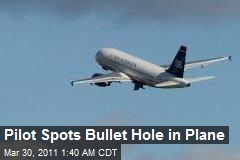 Pilot Spots Bullet Hole in Plane