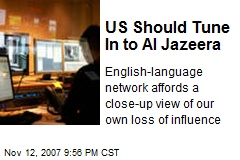 US Should Tune In to Al Jazeera