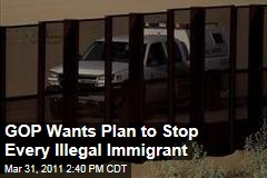 Illegal Immigration: Republicans Want More Border Fencing, Drones, Agents