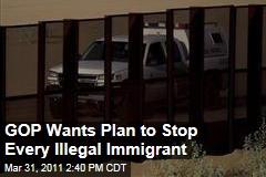 Illegal Immigration: Republicans Want More Border Fencing, Drones, Agents