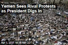 Tens of Thousands in Rival Yemen Protests For, Against President Ali Abdullah Saleh