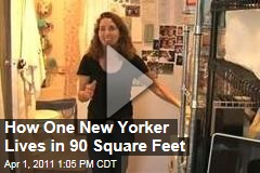 Tiny Manhattan Apartment: Felice Cohen Shows How to Live in 90 Square Feet