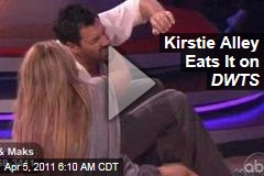 Kirstie Alley Falls on 'Dancing With the Stars' (Video)