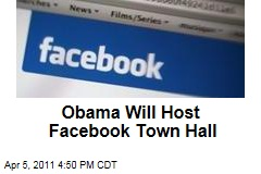 President Obama Will Host Facebook Town Hall on April 20