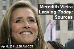 Meredith Vieira Rumored to Be Leaving NBC's Todayrrrrddderrdtrerderrrrrrrrrrr
