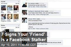 7 Signs Your 'Friend' Is a Facebook Stalker