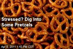 Stressed? Dig Into Some Pretzels