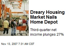 Dreary Housing Market Nails Home Depot