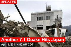 Tsunami Warning Follows New 7.1 Quake in Japan