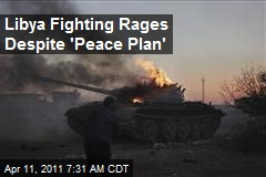 Libya Fighting Rages Despite 'Peace Plan'
