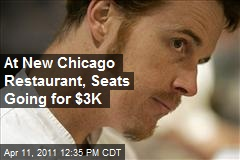 At New Chicago Restaurant, Seats Going for $3K